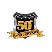 50th anniversary golden