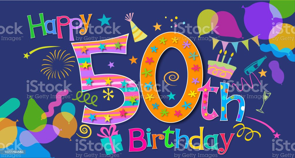 50th birthday greeting stock vector art more images of 30th 50th birthday greeting royalty free 50th birthday greeting stock vector art amp more images m4hsunfo
