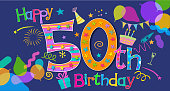 50th Birthday Greeting