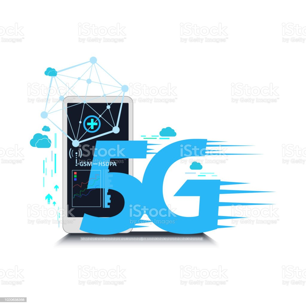 5g connection network internet. vector illustration concept vector art illustration