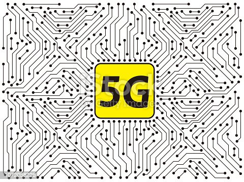 5G 5th generation mobile network wireless Systems.  Wireless Technologies and Mobile Networks
