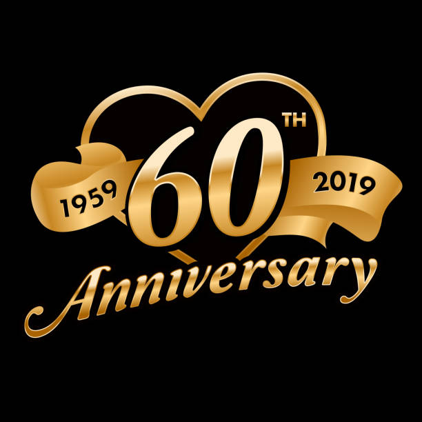 30 Year Anniversary Symbol: Best 60th Anniversary Illustrations, Royalty-Free Vector