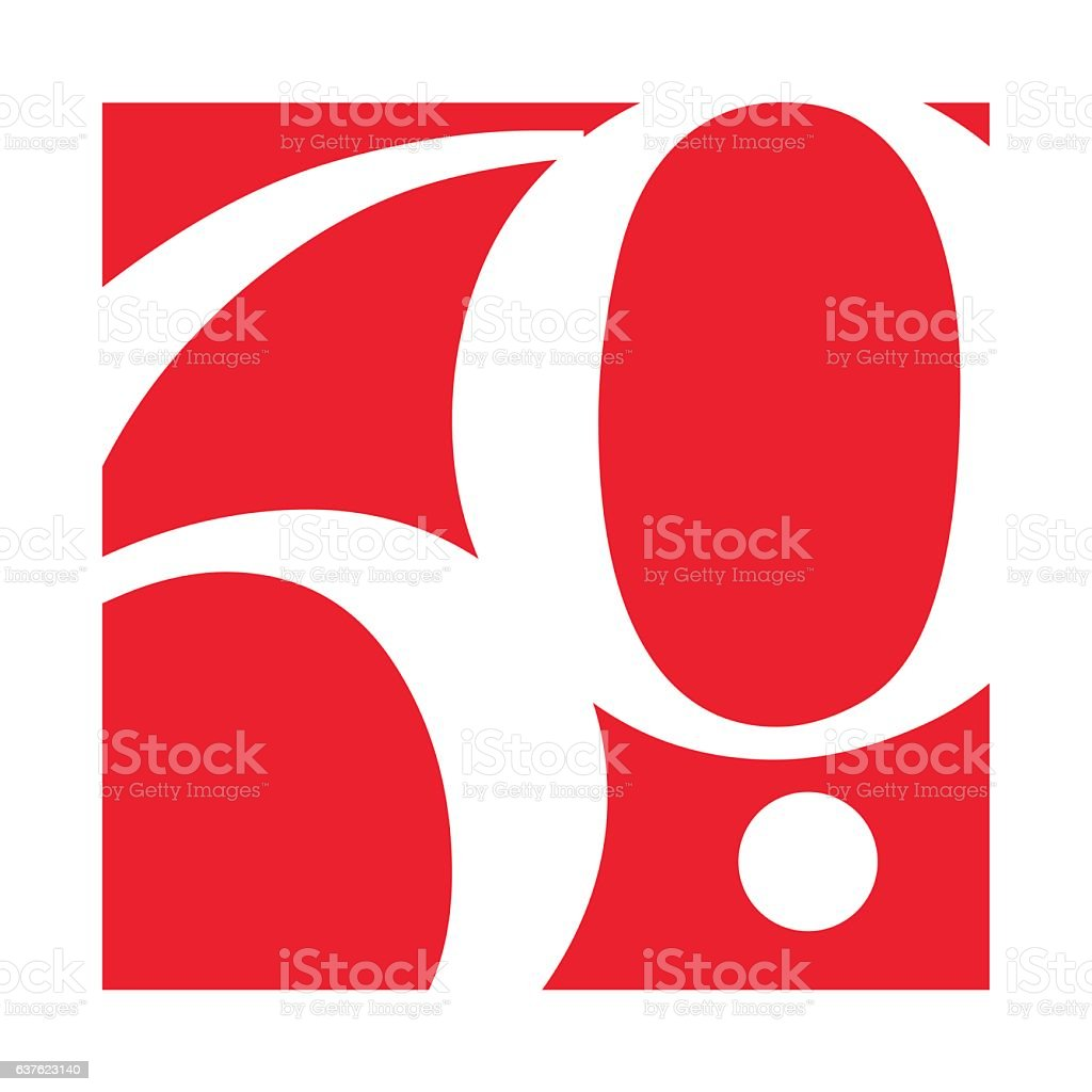 60th Anniversary Template design vector art illustration