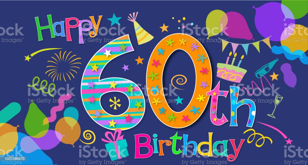 60th birthday greeting stock vector art more images of 30th 60th birthday greeting royalty free 60th birthday greeting stock vector art amp more images m4hsunfo
