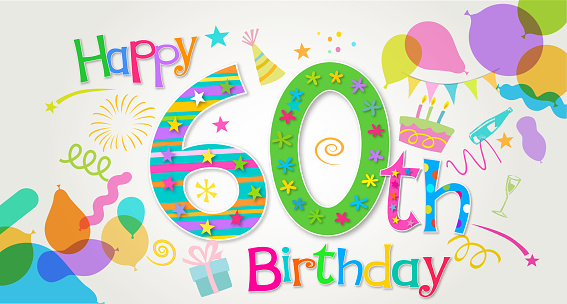 60th Birthday Greeting
