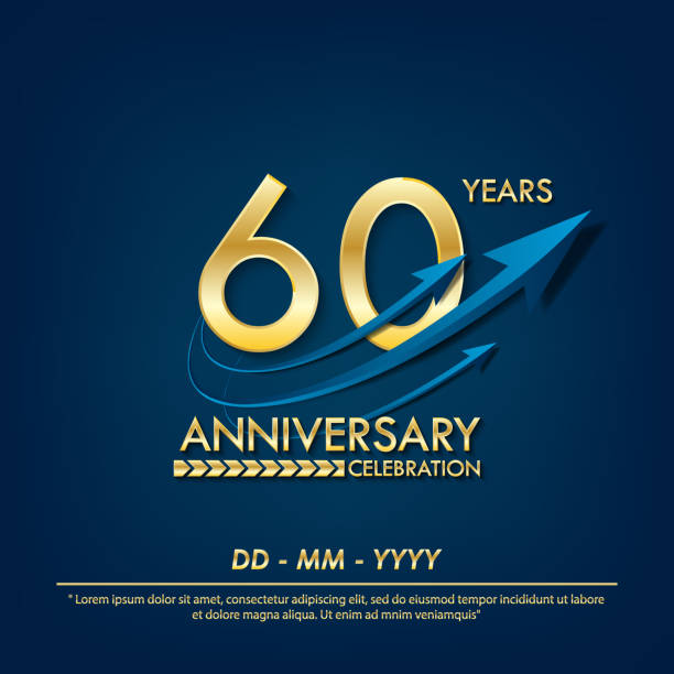 Download 60th Anniversary Illustrations, Royalty-Free Vector ...