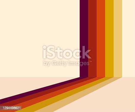istock 70s, 1970 abstract vector stock retro lines background. Vector illustration. 1294498621