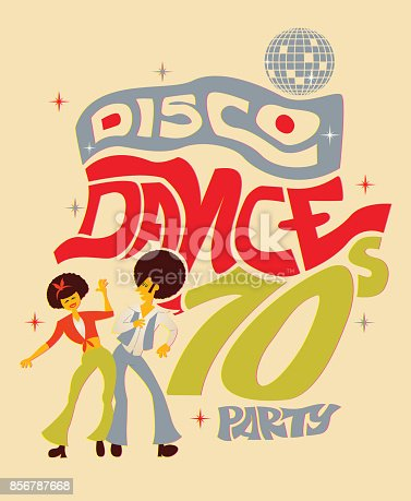 istock 70s Disco Dance 856787668