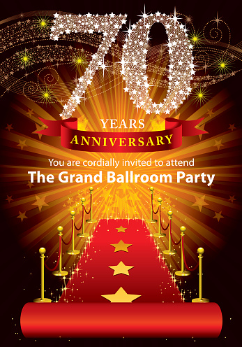 70th Anniversary Party