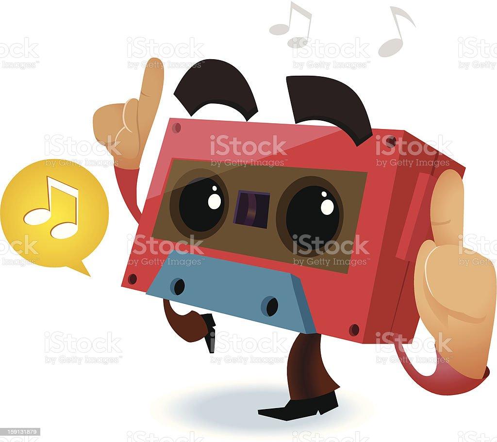 80s Retro music party royalty-free stock vector art