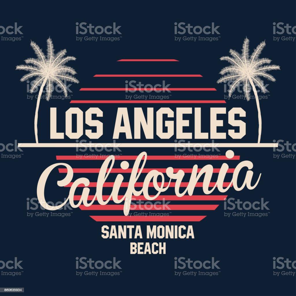 80s Style Vintage California Typography Retro Tshirt