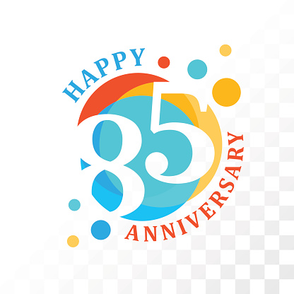 85th Anniversary emblem.