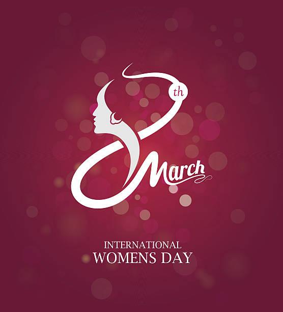 8th march womens day template - 國際比賽 幅插畫檔、美工圖案、卡通及圖標
