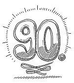 90th Anniversary Number Drawing