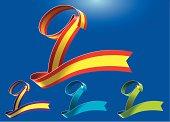 9th anniversary RibbonArt