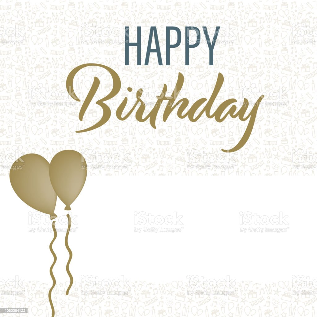 Enjoyable A Birthday Card Template Stock Illustration Download Image Now Personalised Birthday Cards Paralily Jamesorg