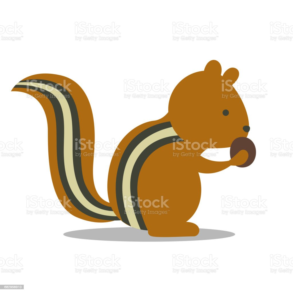 royalty free chipmunk clip art vector images illustrations istock rh istockphoto com chipmunks clip art chipmunk clipart free