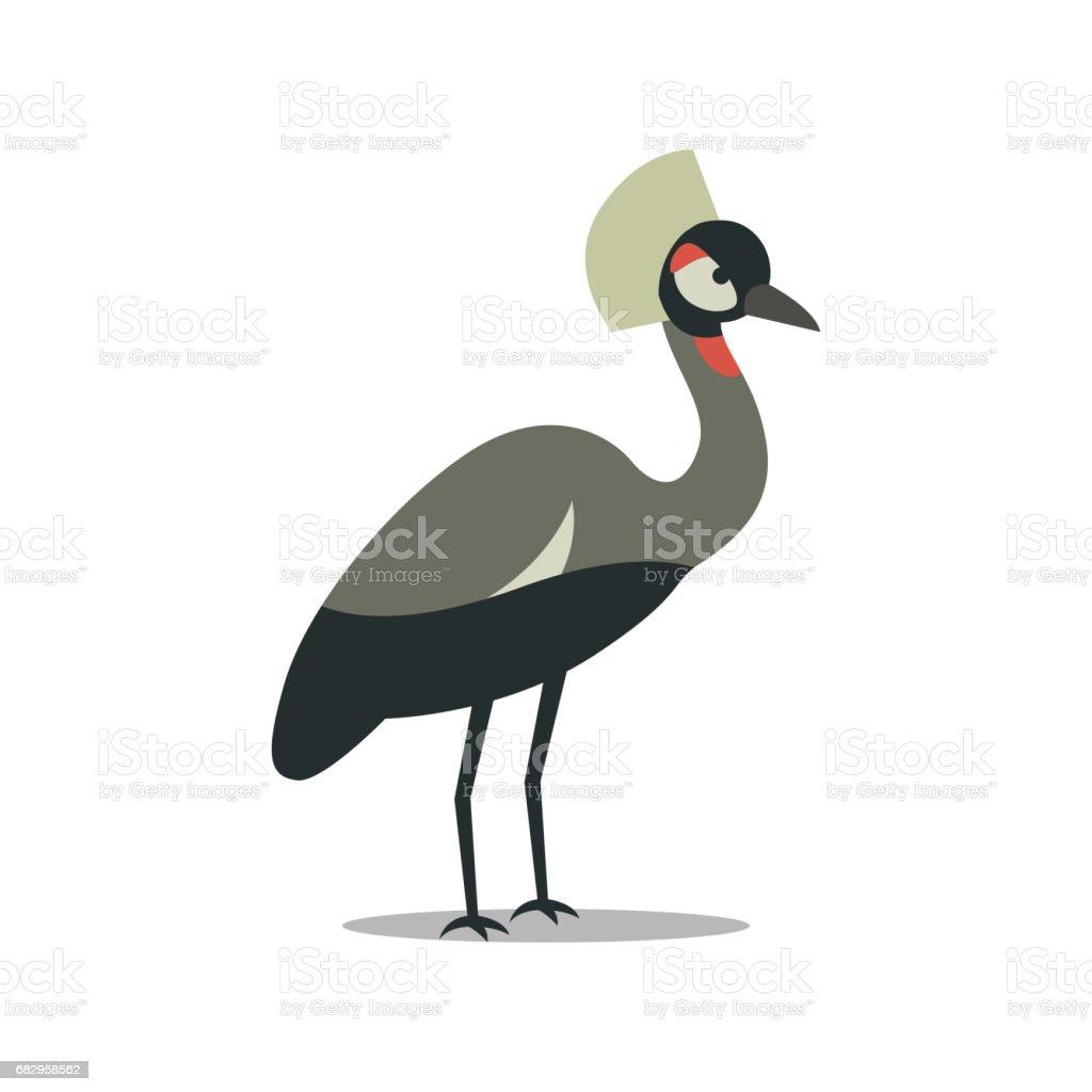 a Crane a crane - arte vetorial de stock e mais imagens de alegria royalty-free