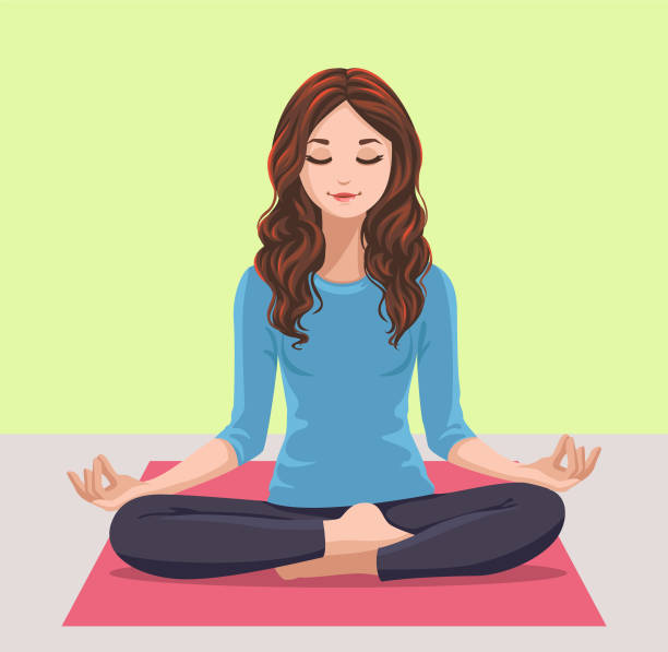 practice yoga for managing stress in students