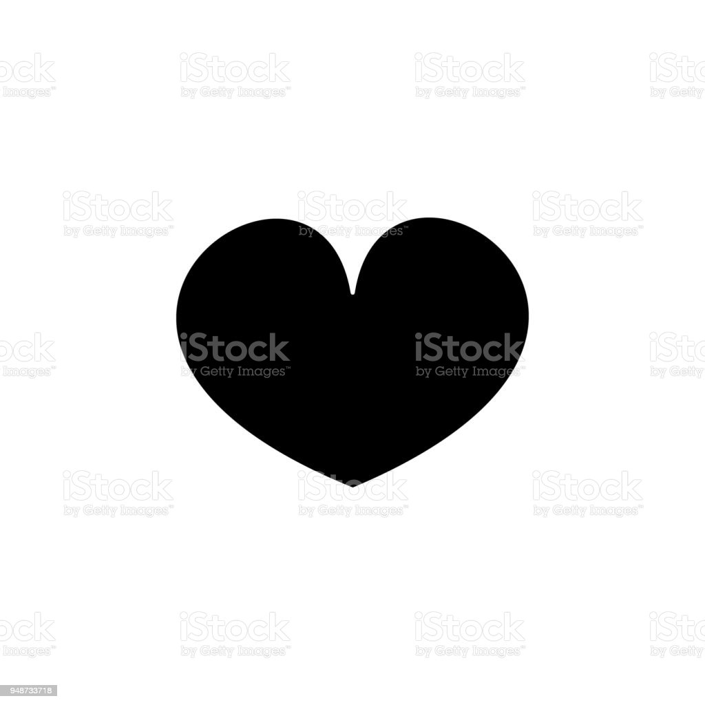 A Heart Icon Element Of Minimalistic Icon For Mobile Concept And Web