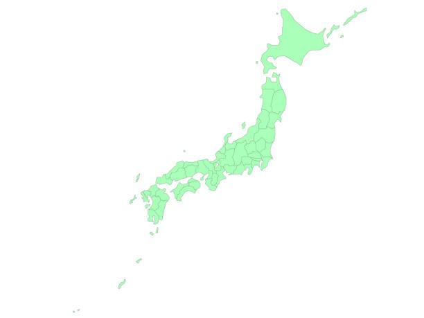 日本地図 - 日本 地図点のイラスト素材/クリップアート素材/マンガ素材/アイコン素材