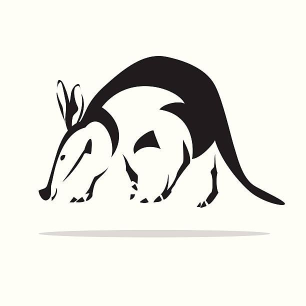 tamandua - ameisenbär stock-grafiken, -clipart, -cartoons und -symbole