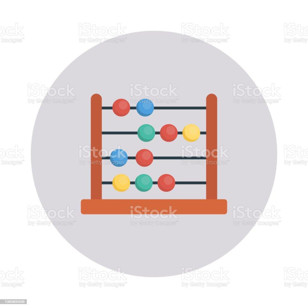 abacus   calculation   mathematics vector art illustration