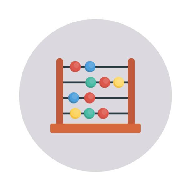 Abacus Berechnung Mathematik – Vektorgrafik