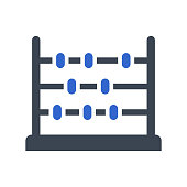 istock Abacus, education icon 1204771455