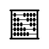 istock Abacus icon trendy 1218574934