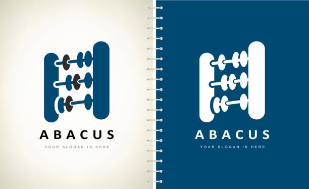 bildbanksillustrationer, clip art samt tecknat material och ikoner med abacus vektor. design illustration. - abakus