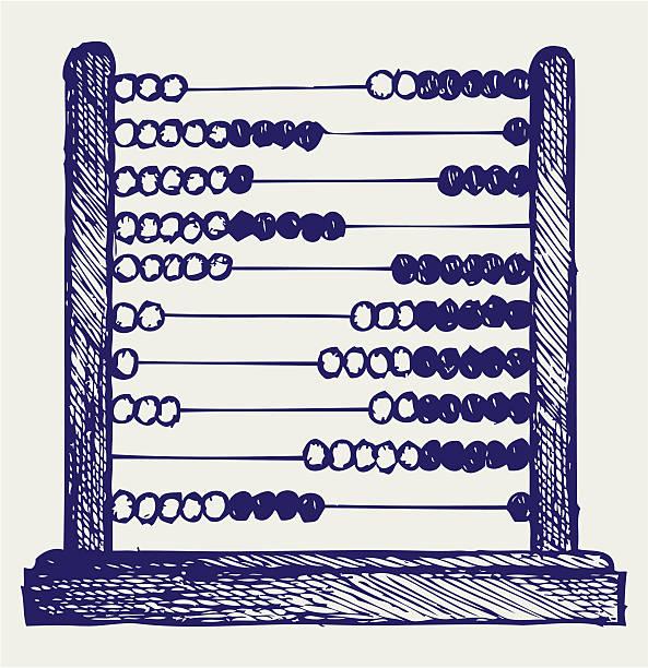 bildbanksillustrationer, clip art samt tecknat material och ikoner med abacus - abakus