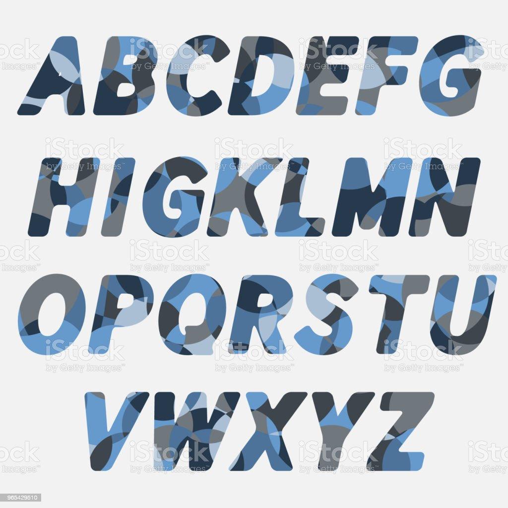 ABC.Colorful creative funny alphabet letters abccolorful creative funny alphabet letters - stockowe grafiki wektorowe i więcej obrazów alfabet royalty-free