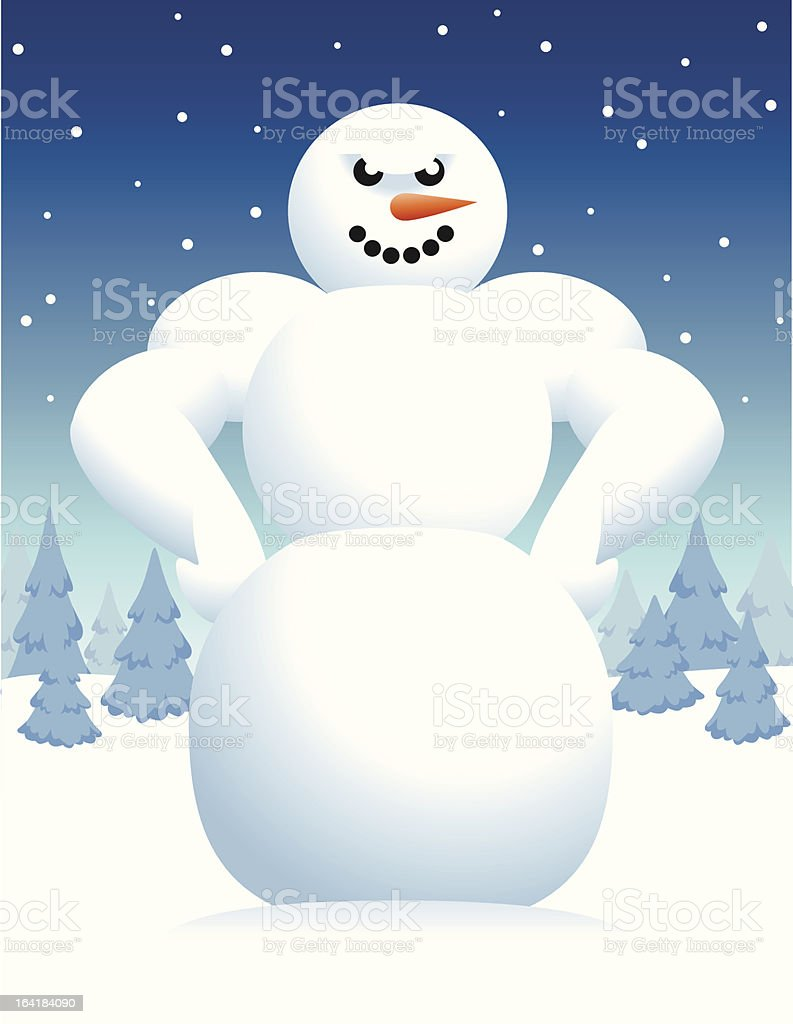 Abominable Snowman royalty-free abominable snowman stock vector art & more images of carrot