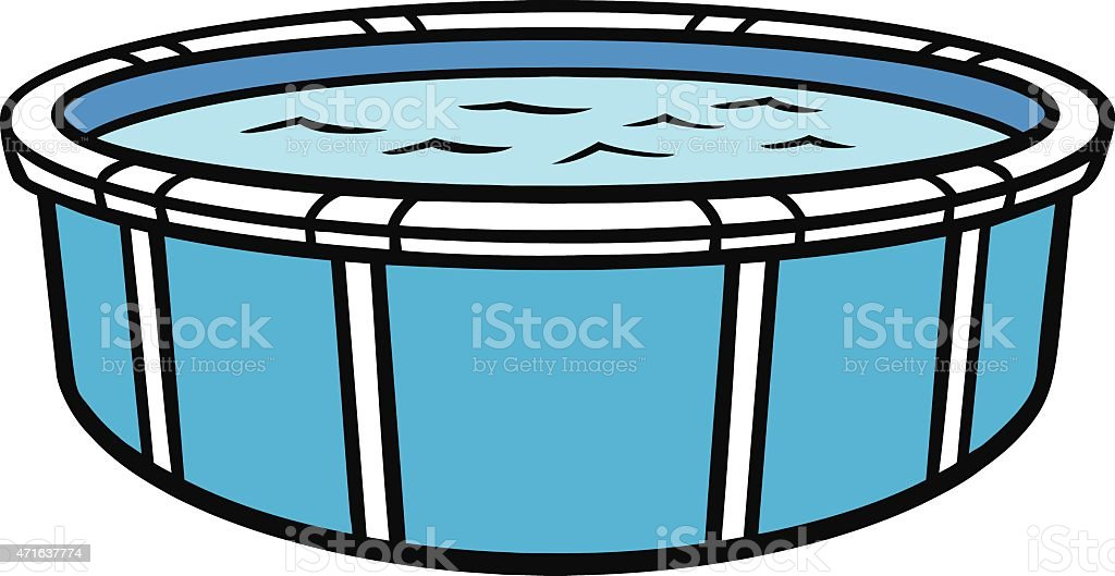 swimming pool vector. Above Ground Swimming Pool Royalty-free Stock Vector Art \u0026amp;