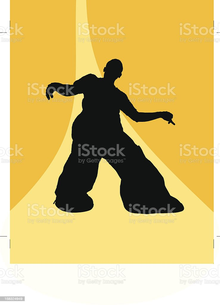 Above the ground 2 royalty-free stock vector art