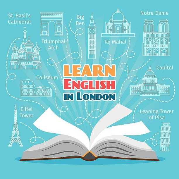 外国語学校 - 語学の授業点のイラスト素材/クリップアート素材/マンガ素材/アイコン素材