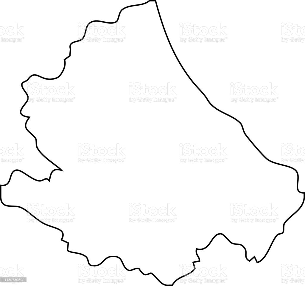 Picture of: Abruzzo Map Region Of Italy Stock Illustration Download Image Now Istock