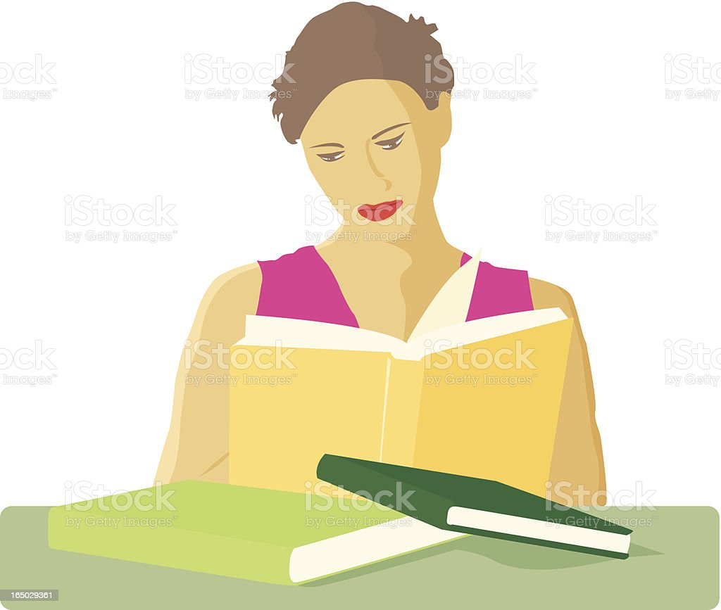 Absorbing Knowledge royalty-free absorbing knowledge stock vector art & more images of adult