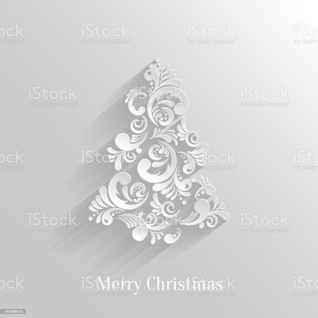 Absrtact Mit Weihnachtsbaum Hintergrund Trendy Designvorlage Stock ...