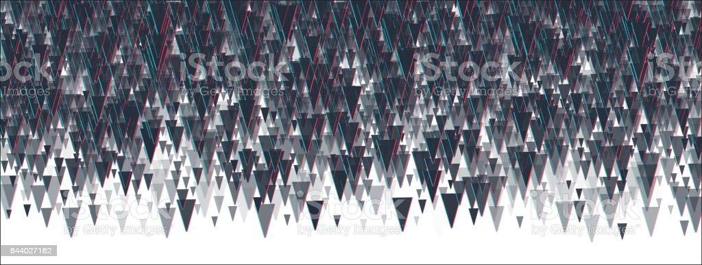 Abstrackt triangle background. vector art illustration