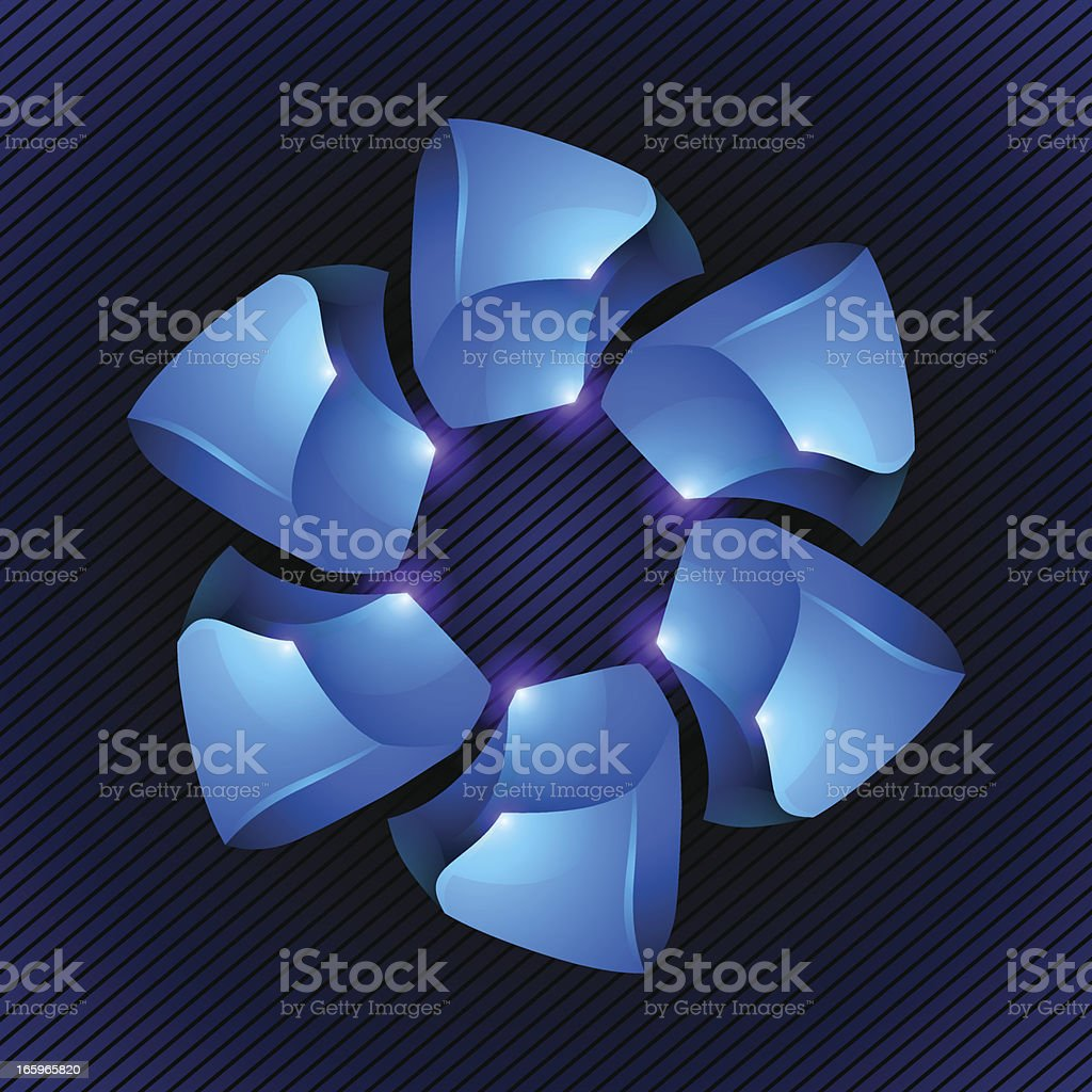 Abstract 3D Design Element royalty-free abstract 3d design element stock vector art & more images of abstract