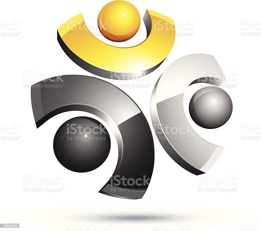 Abstract 3D design royalty-free abstract 3d design stock vector art & more images of abstract