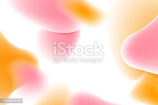 istock Abstract 3d liquid colorful freeform shapes composition background. 3d Vector illustration 1323420102