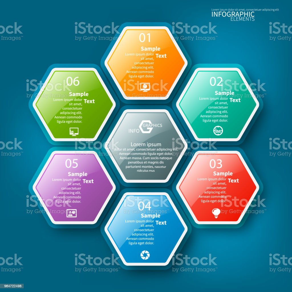 Abstract 3D Paper Infographics royalty-free abstract 3d paper infographics stock vector art & more images of abstract