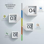 Modern Infographic Timeline Design. EPS 10 vector illustration, contains transparencies. High resolution jpeg file included(300dpi).