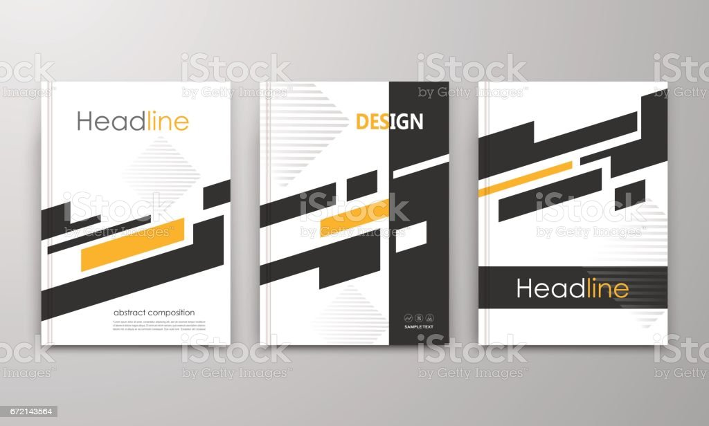 Abstrakte A4 Broschüre Coverdesign Anzeige Rahmen Schriftart ...