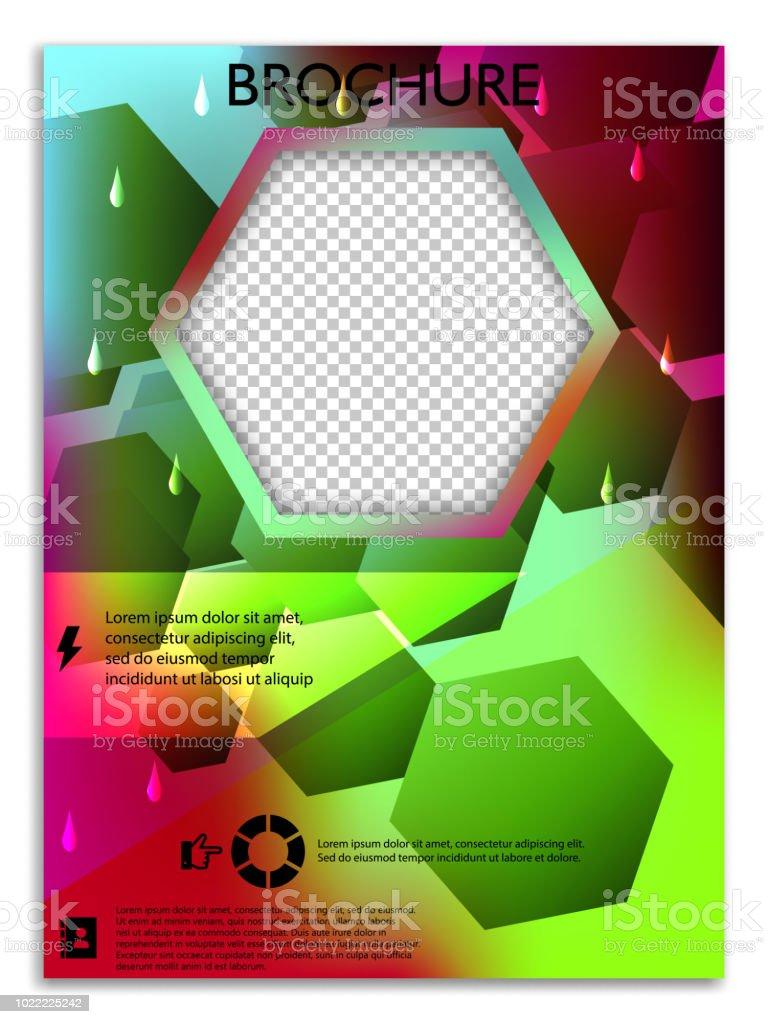 Design De Couverture Brochures A4 Abstraite Modeles Pour Banniere Carte Visite Fiche