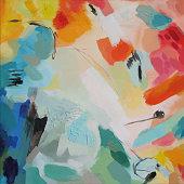 istock Abstract Acrylic Painting Awareness 1150757218
