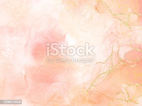 istock Abstract alcohol ink texture marble style background. EPS10 vector illustration design. 1326573309